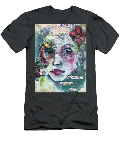 Sappho's Quote Men's T-Shirt (Athletic Fit)
