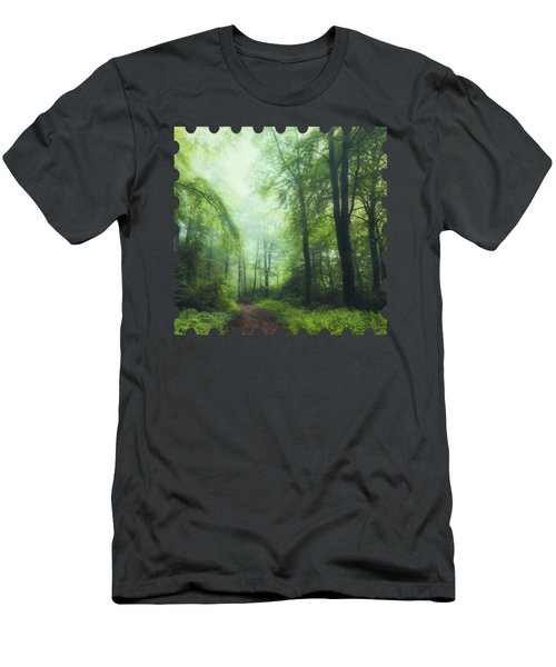 Scent Of Summer In The Forest Men's T-Shirt (Athletic Fit)