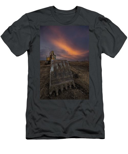 Men's T-Shirt (Athletic Fit) featuring the photograph Scoop by Aaron J Groen