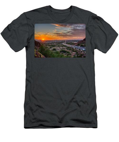Scottsdale Sunset Men's T-Shirt (Athletic Fit)
