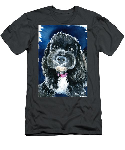 Scout - Cavoodle Dog Painting Men's T-Shirt (Athletic Fit)