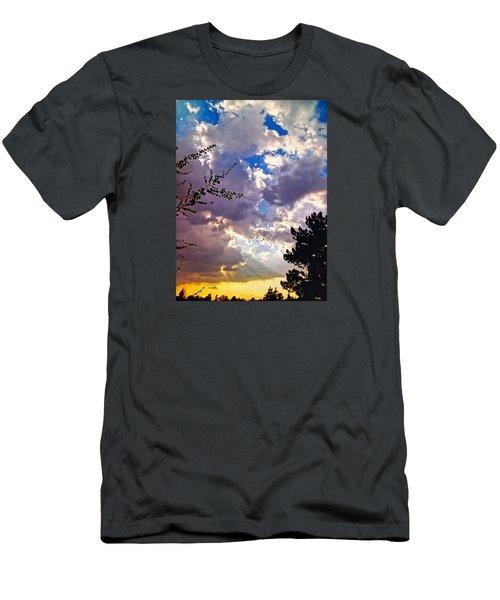 Searchlight Men's T-Shirt (Athletic Fit)