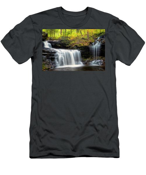 Men's T-Shirt (Athletic Fit) featuring the photograph Seeing Double by Russell Pugh