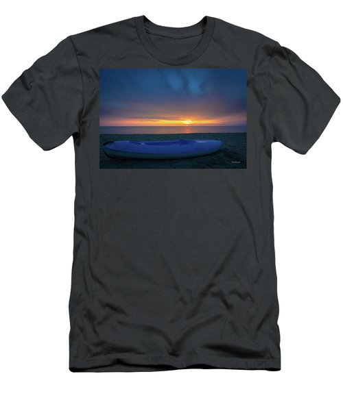 Men's T-Shirt (Athletic Fit) featuring the photograph Serata Blu Sul Mare by Tim Bryan