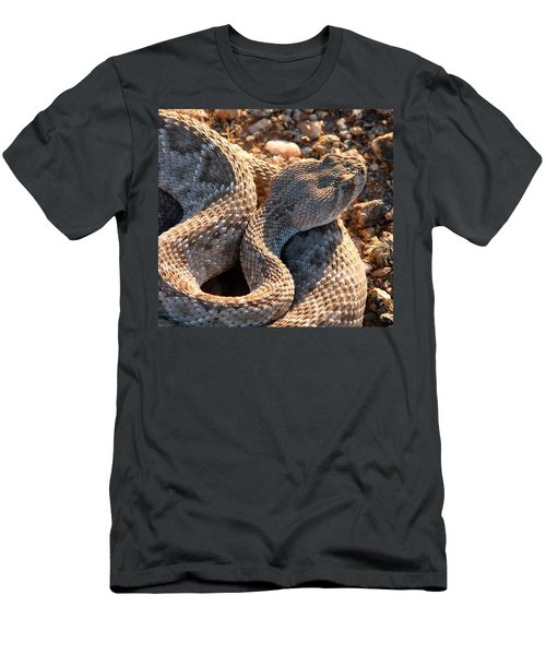 Men's T-Shirt (Athletic Fit) featuring the photograph Serpent Of The Southwest by Judy Kennedy