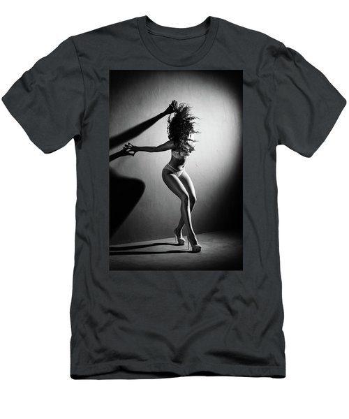 Shadows Against The Wall Men's T-Shirt (Athletic Fit)