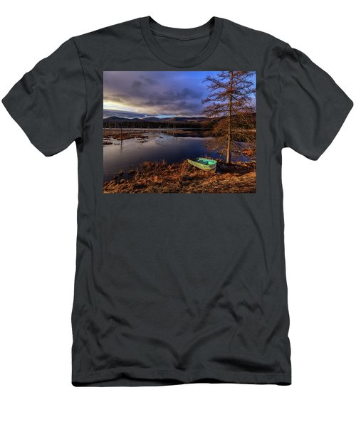 Shaw Pond Sunrise - Landscape Men's T-Shirt (Athletic Fit)