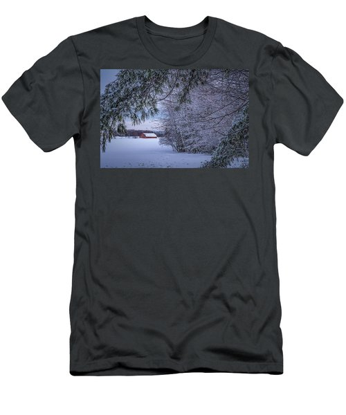 Shed At Sunset Men's T-Shirt (Athletic Fit)