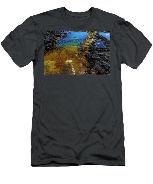 Shore Colors Men's T-Shirt (Athletic Fit)