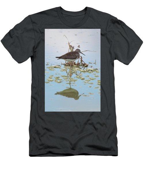 Shorebird Reflection Men's T-Shirt (Athletic Fit)