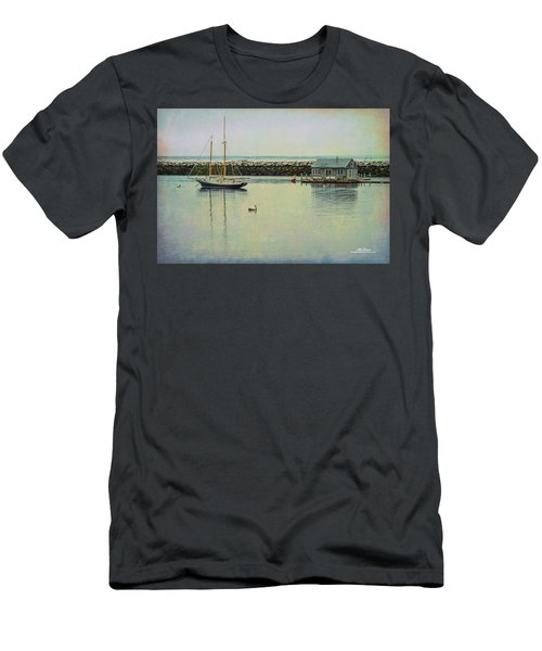 Men's T-Shirt (Athletic Fit) featuring the photograph Sigh Of A Sailor by Mike Braun