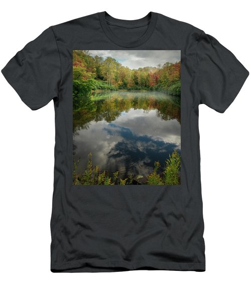 Sims Pond Blowing Rock North Carolina Men's T-Shirt (Athletic Fit)