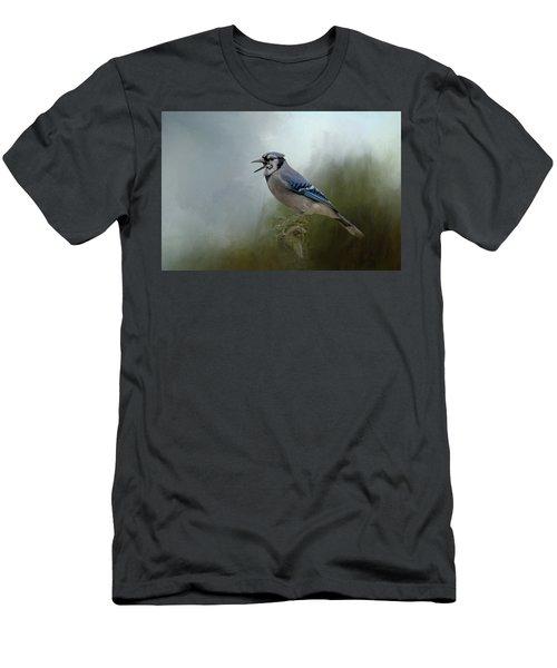 Singing The Blues Men's T-Shirt (Athletic Fit)