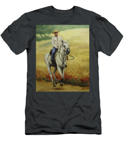 Six Feet Off The Ground Men's T-Shirt (Athletic Fit)