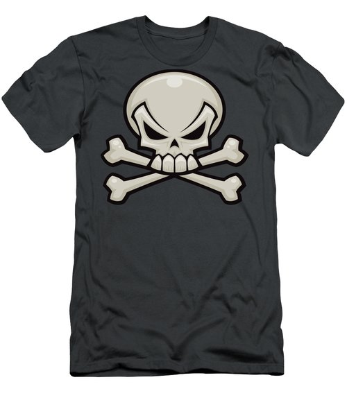Skull And Crossbones Men's T-Shirt (Athletic Fit)