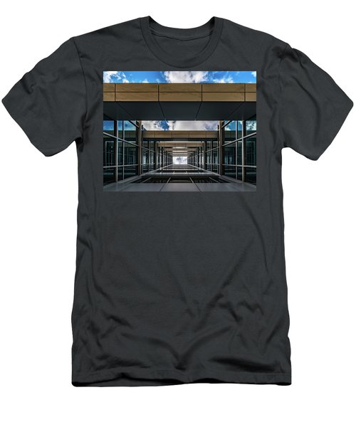Men's T-Shirt (Athletic Fit) featuring the photograph Sky Tunnel by Randy Scherkenbach