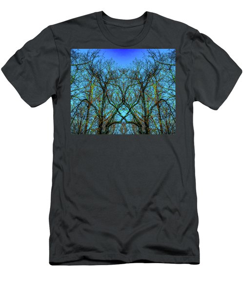 Sleeping Butterfly Men's T-Shirt (Athletic Fit)