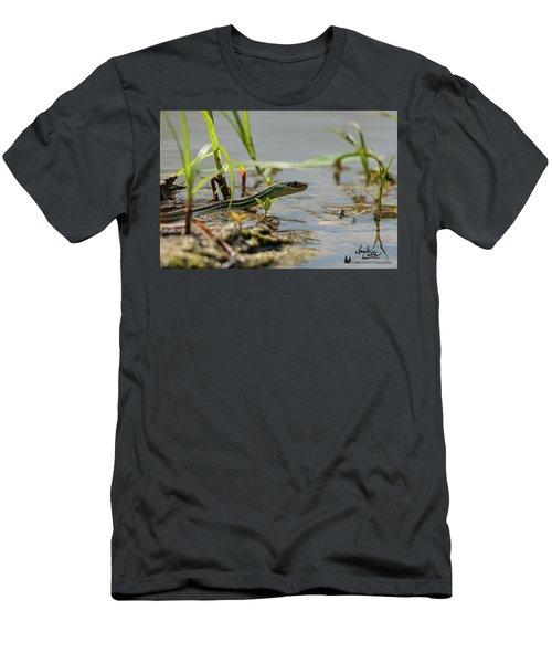 Slither Men's T-Shirt (Athletic Fit)