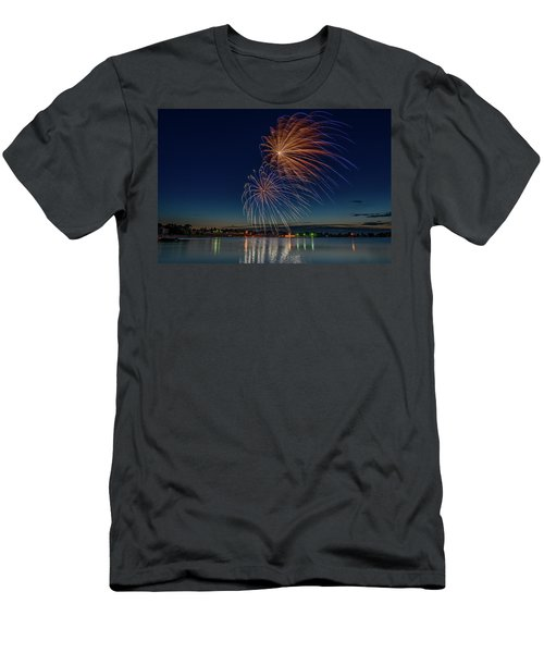 Small Town 4th Men's T-Shirt (Athletic Fit)