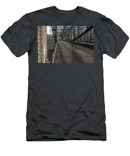 Smithfield Street Bridge Men's T-Shirt (Athletic Fit)