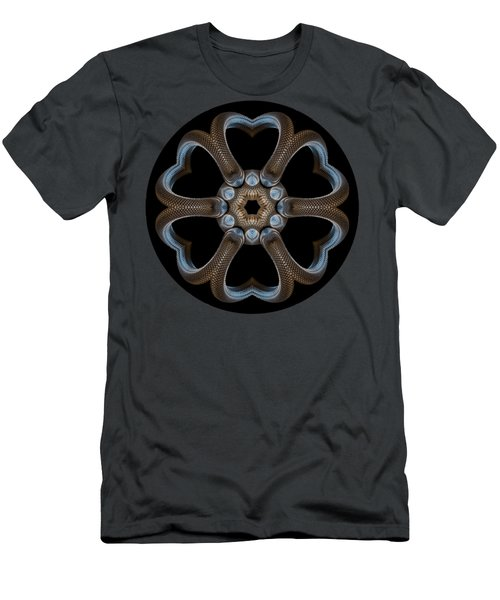 Snake Mandala Men's T-Shirt (Athletic Fit)