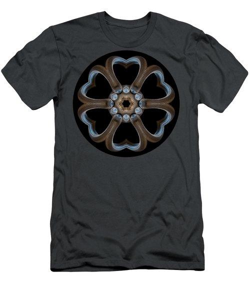 Snake Mandala Men's T-Shirt (Athletic Fit)