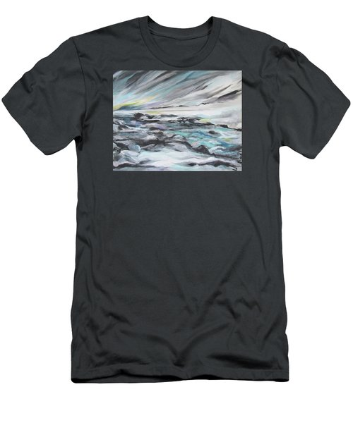 Snow Flow Men's T-Shirt (Athletic Fit)