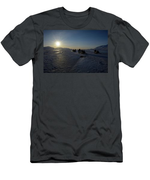 Snowmobile Expeditions Men's T-Shirt (Athletic Fit)