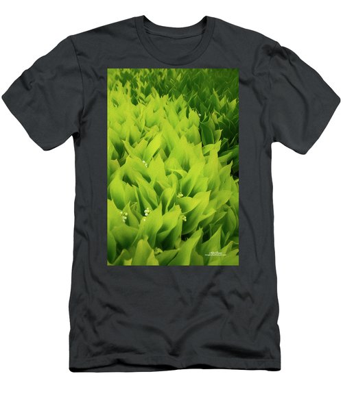 Men's T-Shirt (Athletic Fit) featuring the photograph Soft Green by Mike Braun