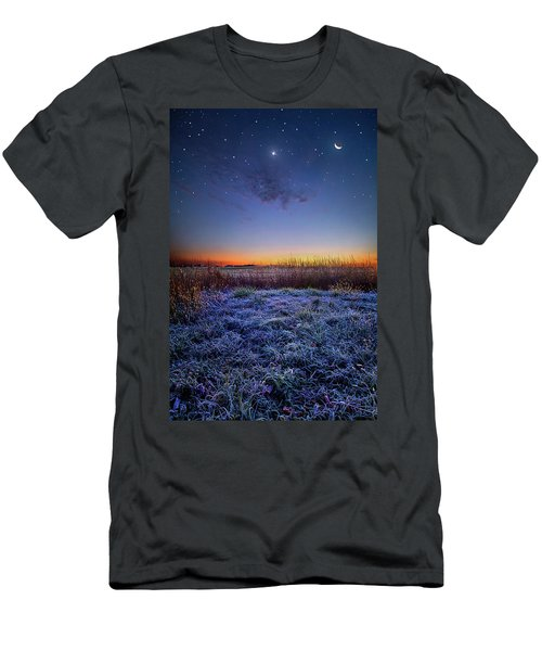 Men's T-Shirt (Athletic Fit) featuring the photograph Softly Spoken Prayers by Phil Koch