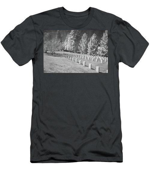 Somber Scene Men's T-Shirt (Athletic Fit)