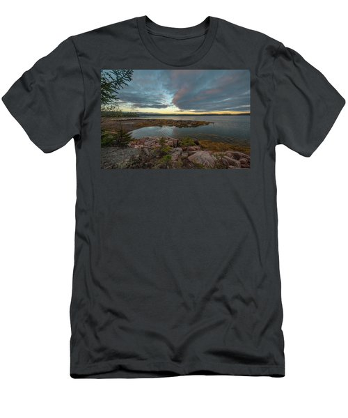Somes Sound Sunset Men's T-Shirt (Athletic Fit)