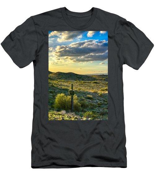 Sonoran Desert Portrait Men's T-Shirt (Athletic Fit)