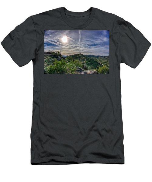 South Mountain Depth Men's T-Shirt (Athletic Fit)