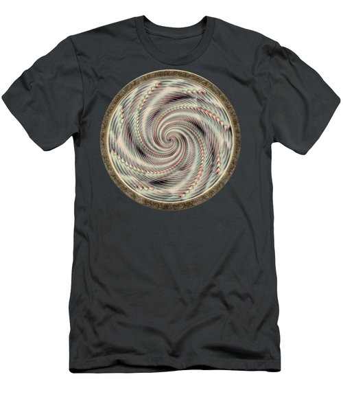 Spinning A Design For Decor And Clothing Men's T-Shirt (Athletic Fit)