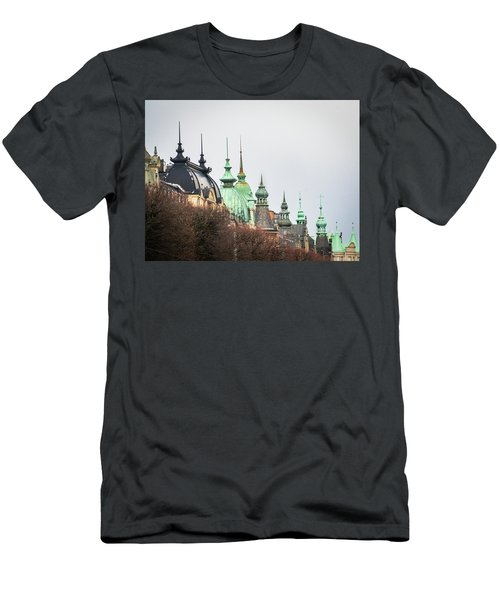 Spires Of Stockholm Men's T-Shirt (Athletic Fit)
