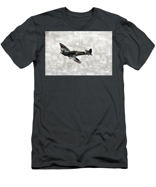 Spitfire, Wwii Men's T-Shirt (Athletic Fit)