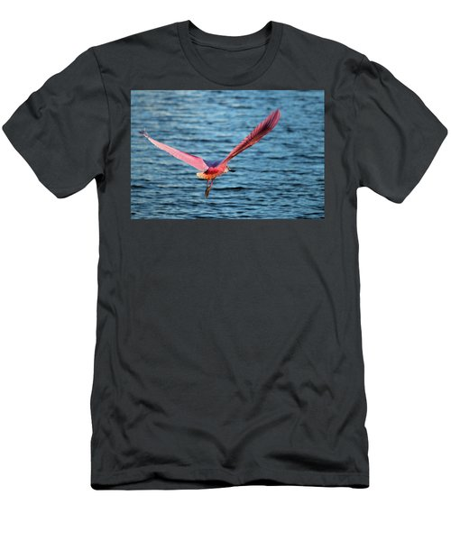 Spoonbill Wingspan Men's T-Shirt (Athletic Fit)