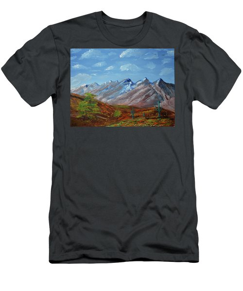 Spring Comes To Southern Arizona Men's T-Shirt (Athletic Fit)