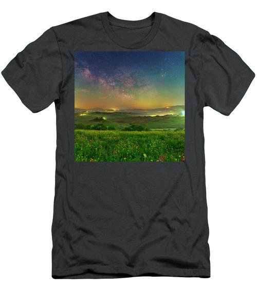 Spring Memories Men's T-Shirt (Athletic Fit)