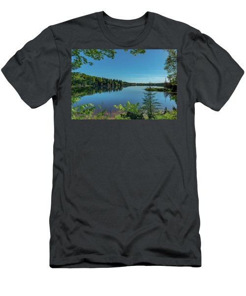 Spring Morning On Grand Sable Lake Men's T-Shirt (Athletic Fit)