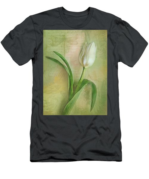 Spring Tulip Montage Men's T-Shirt (Athletic Fit)