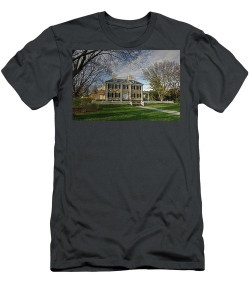 Springtime At Longfellow House Men's T-Shirt (Athletic Fit)