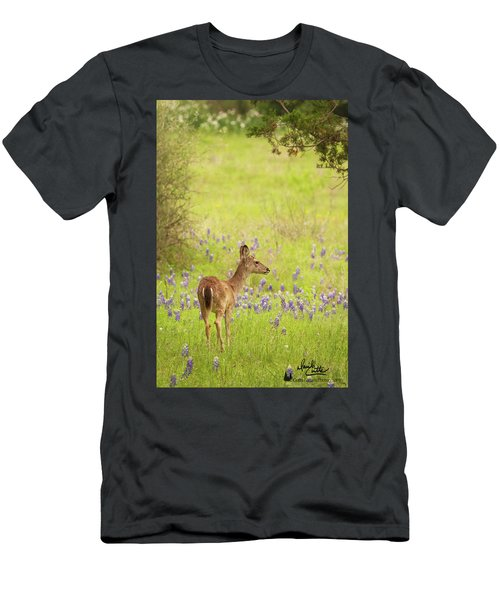 Springtime Whitetail Men's T-Shirt (Athletic Fit)