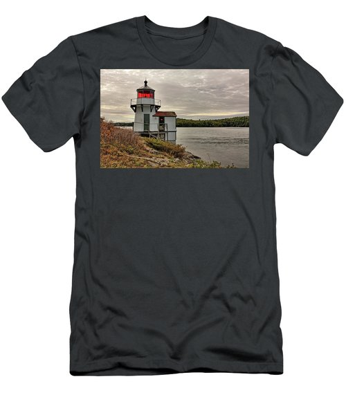 Squirrel Point Light Men's T-Shirt (Athletic Fit)