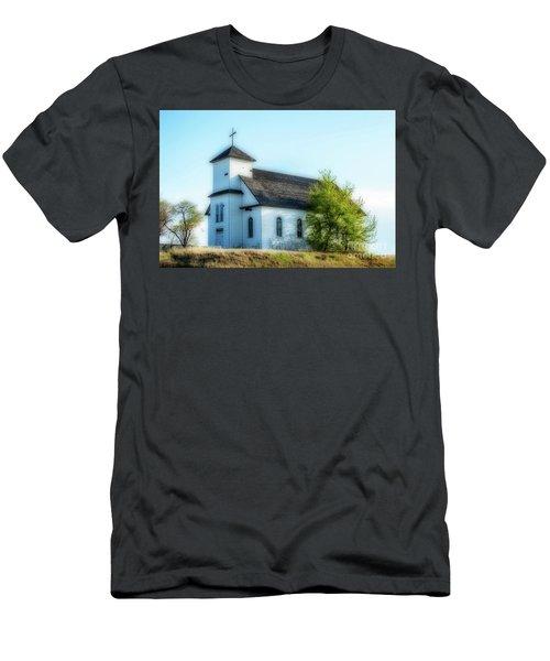 St. Agnes. Church Men's T-Shirt (Athletic Fit)