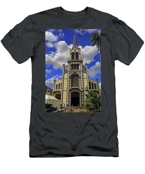 Men's T-Shirt (Athletic Fit) featuring the photograph St. Louis Cathedral by Tony Murtagh