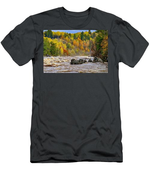 St. Louis River At Jay Cooke Men's T-Shirt (Athletic Fit)