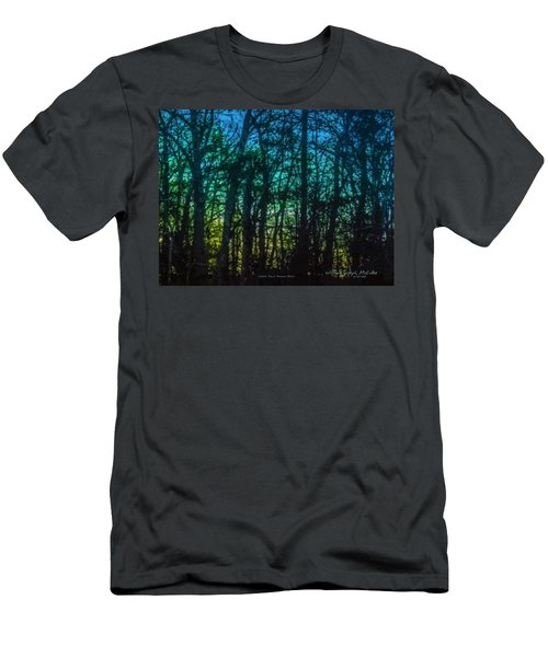 Stained Glass Dawn Men's T-Shirt (Athletic Fit)