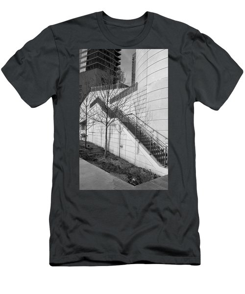 Stairs Up The Side Men's T-Shirt (Athletic Fit)